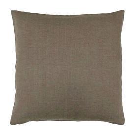 "Cushion 20"" x 20"" Romo Ghent Cookie Linen"