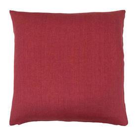 """Cushion 20"""" x 20"""" Romo Ghent Raspberry Linen"""