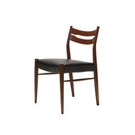 Rosewood & Black Dining Chair