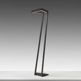 Grey Angled ''My Way'' Led Floor Lamp