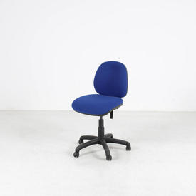 Silverline Occasional Bright Blue Gas Lift Typist Chair