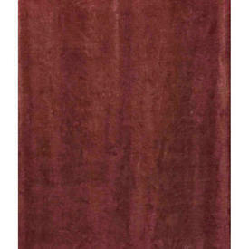"Pair Drapes 12'3"" x 7'6"" Faded Dusky Red Velvet (AF-patched)"
