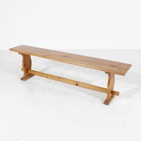 167Cm Pine School / Gym Bench