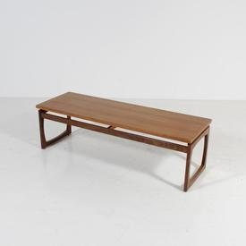 Teak G Plan Rect Coffee Table with Raised Top