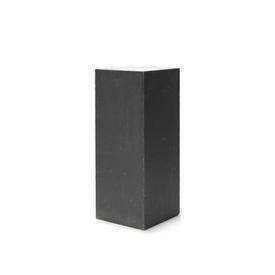 Large Square Lead Pedestal with Perspex Top