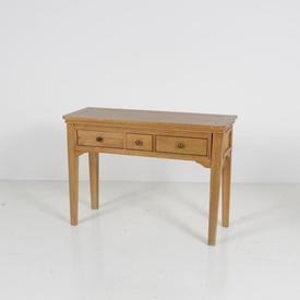 Solid Oak 3 Drawer Loire Dressing Table