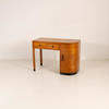 2 Draw 1 Curved Door Pale Mahogany Dressing Table