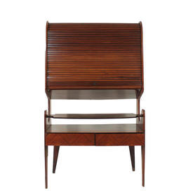 Rosewood Tamba Front Cocktail Cabinet on Legs