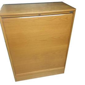Oak 1 Tambour Door Kinnarps 4' X 3' Cupboard