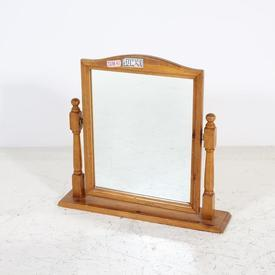 Pine Shape Top Dressing Table Mirror