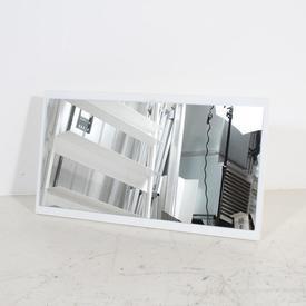 77Cm X 42Cm White Landscape Nova Dressing Table Mirror