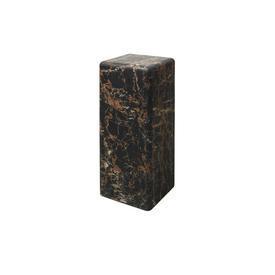 Medium Brown Marble Effect Pedestal