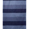 Bed Cover (S) Blue Stripe Weave