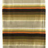 Bed Cover (D 4') Brown / Mustard Stripe Sateen