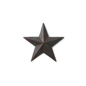 Medium Distressed Blue Metal Star