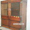 6'x3' Oak Frosted Glass Door Easiwork Cabinet W/Enamel Tray