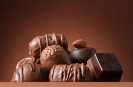 Thumb chocolates